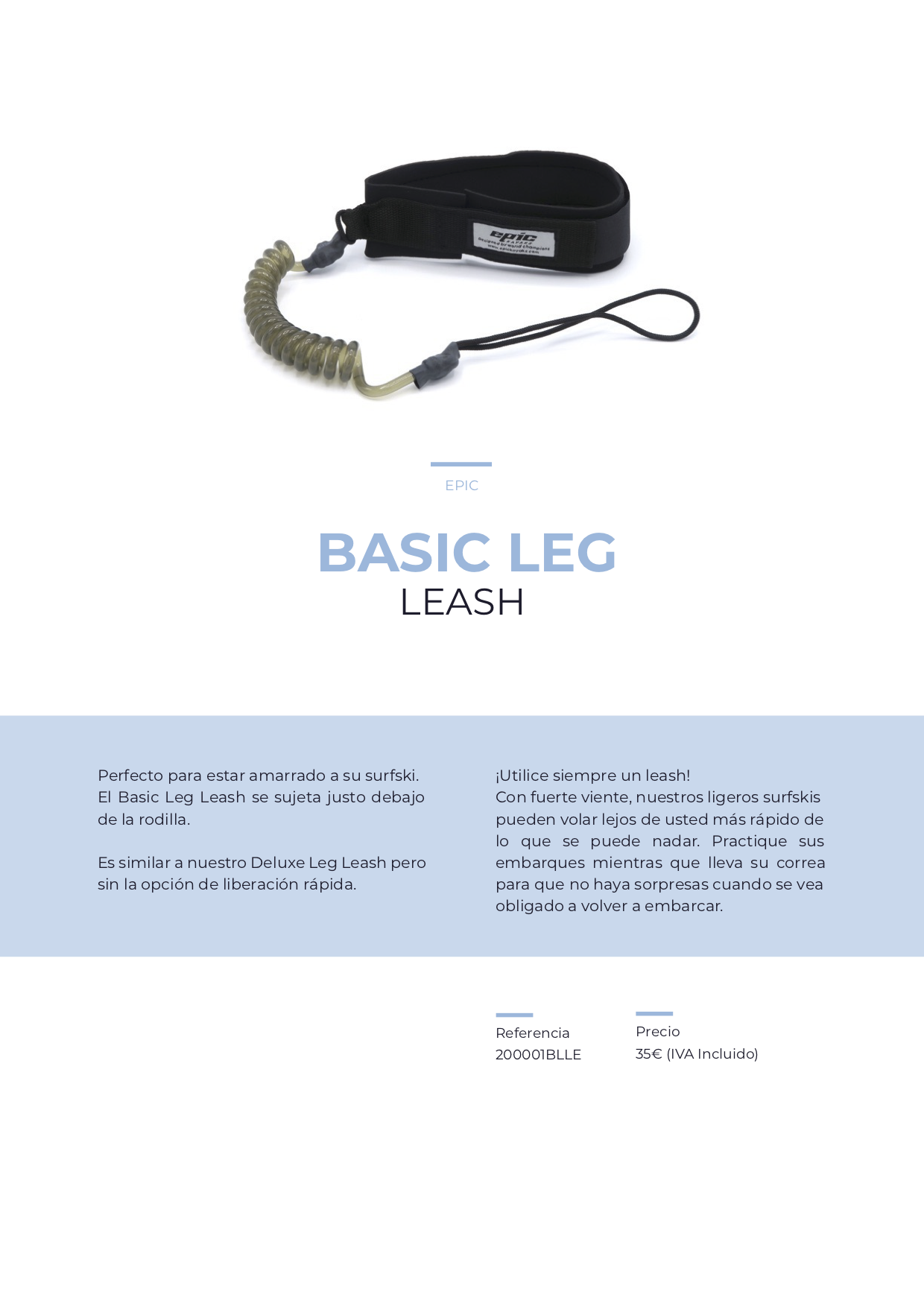 leash basic epic